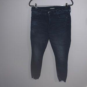 Express Jeans! Dark wash!